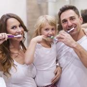 Brush teeth it's our habit